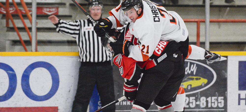 FLYERS STREAK ENDS WITH LOSS TO SELKIRK – OCTOBER 17